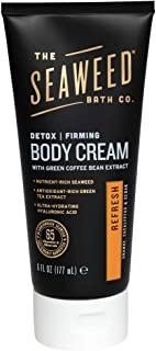 product image for The Seaweed Bath Co.. Orange, Eucalyptus & Cedar Refresh Firming Detox Body Cream, 6 Oz