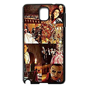 DIY Hard Back Case Skin with Phantom of the Opera for Samsung Galaxy Note 3 III N9000 -Black031207