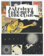 Astrology Ephemera Collection: An Astrology Themed Collection of Authentic Ephemera for Junk Journals, Scrapbooking, Collage, Decoupage, Card Making, Mixed Media and Many Other Crafts - over 200 Ephemera Pieces