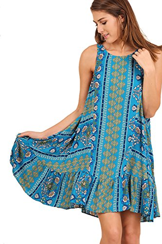 Seller Sleeveless Panel Dress Ruffle product image