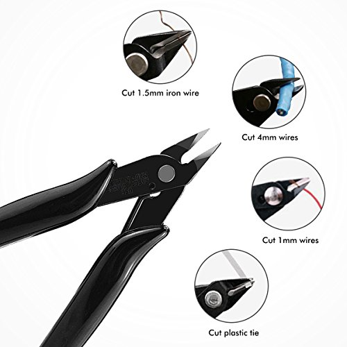 Diagonal Pliers Wire Side Flush Cutter Cutting Electric Shears Pliers DIY new BH