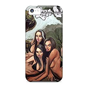 DannyLCHEUNG Iphone 5c Protective Hard Phone Cases Allow Personal Design Lifelike Red Hot Chili Peppers Pictures [FLG11937UzFc]