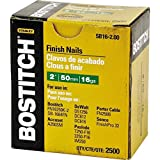 BOSTITCH SB16-2.00-1M 2-Inch by 16 Gauge Bright Finish Nail (1,000 per Box)