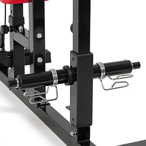 Multi Function Pro Lat Pulldown Machine with Low Row Bar Cable Fitness Equipment