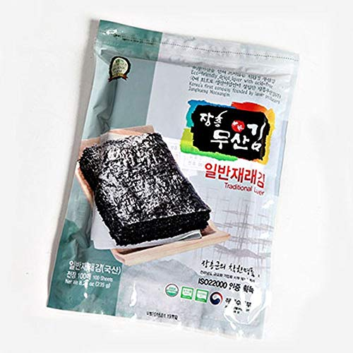 Moosankim Traditional Seaweed 50 sheets without Acid Treatment by Moosankim