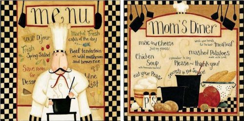 chef kitchen wall art - 7
