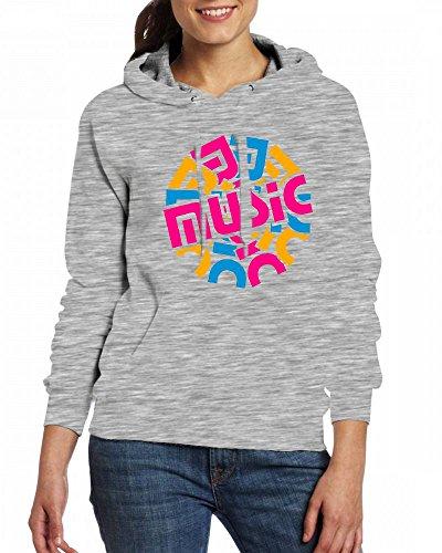 A music circle Womens Hoodie Fleece Custom Sweartshirts