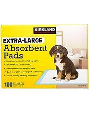 Kirkland Signature Extra-Large Absorbent Pads, 100 Large Pads, 30x23 (Original Version)