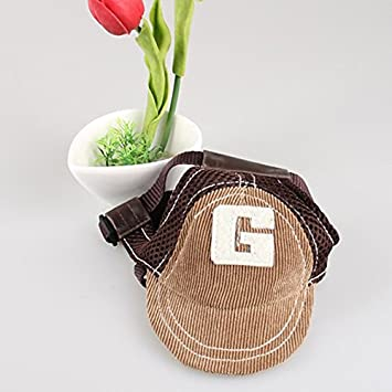 Optional Size,2 Colors Outdoor Hat Protection Cap for Small Medium Large Dog Ruimin 【Dog Sun Hat】 Dog Baseball Sport Cap