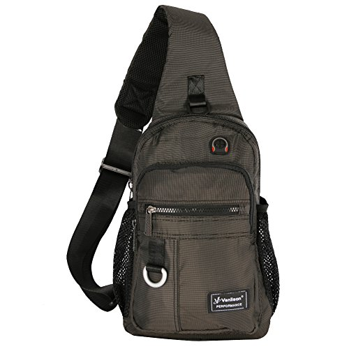 Vanlison Crossbody Sling Bag Backpack for Men & Women