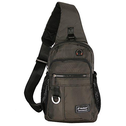 Vanlison Crossbody Sling Bag Backpack for Men & - Bag Two Sling Pocket