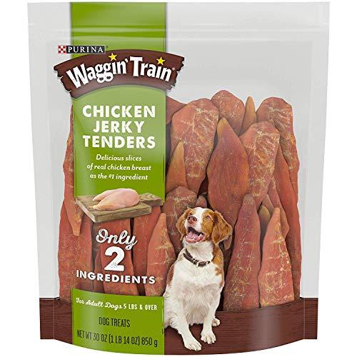 Waggin' Train Chicken Jerky Tenders Adult Dog Treats, 30 oz (Pack of 2)