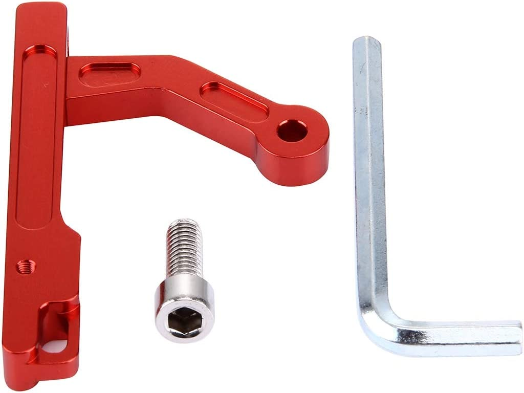 Metal Iron CNC Mobile Device Holder for DJI Phantom 3 or Inspire 1 Transmitter Durable Color : Red