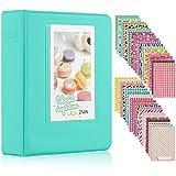 Ablus 64 Pockets Mini Photo Album for Fujifilm Instax Mini 7s 8 8+ 9 25 26 50s 70 90 Instant Camera & Name Card (64 Pockets, Mint)