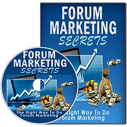 Forum Marketing Secrets. If You Aren't Taking Advantage Of The Power Of Forum Marketing, You Are Missing Out On A HUGE Opportunity ()
