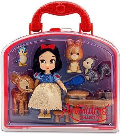 Disney Animators/' Collection Snow White Micro Playset New