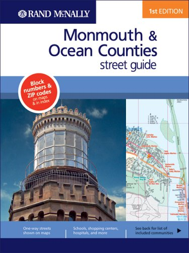 Rand Mcnally Monmouth/ocean County, New Jersey (Rand McNally Monmouth/Ocean Counties (New Jersey) Street Guide)