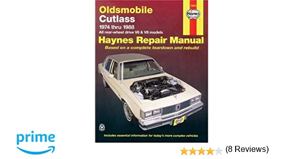 Oldsmobile cutlass 7488 haynes repair manuals haynes oldsmobile cutlass 7488 haynes repair manuals haynes 0038345006586 amazon books fandeluxe Gallery