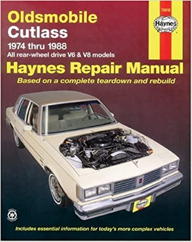 Oldsmobile cutlass 7488 haynes repair manuals haynes oldsmobile cutlass 7488 haynes repair manuals 1st edition fandeluxe Gallery
