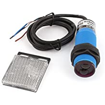 Uxcell E30-R4PA PNP NO 3-Wires 1-4m Sensor Photoelectric Switch DC 10-36V
