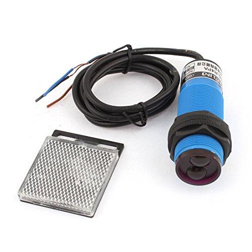 Uxcell E30-R4PA PNP NO 3-Wires 1-4m Sensor Photoelectric Switch DC 10-36V Photoelectric Sensor Switch