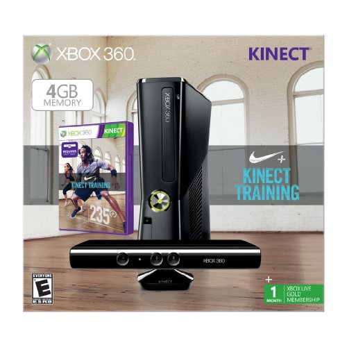 Xbox 360 4GB with Kinect Nike+ Bundle by Microsoft (Image #1)