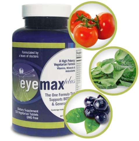 EYEMAX-plus Vision and Body Maximum Strength Formula TWO- MONTH SUPPLY (SAVE $20).