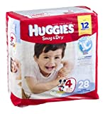 Huggies Snug & Dry Disney Baby Stage 4 Diapers (22-37 lb) 28 CT (Pack of 8)