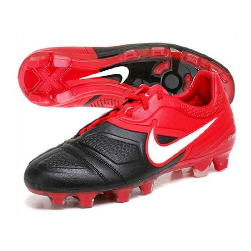 Nike CTR360 Maesrt FG Black/Challenge Red Mens Soccer Cleats 366221-016 (6) (Soccer Cleats Ctr)