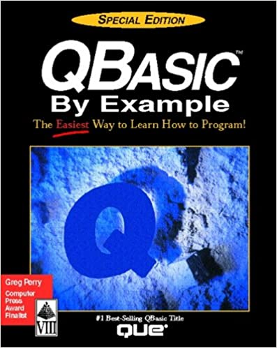 QBasic By Example, Special Edition: 9781565294394: Computer