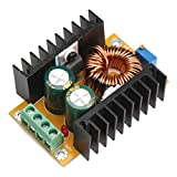 DROK 090063 DC Voltage Converter Regulator 12V/24V 10-32V to 36-60V 48V Boost Car Regulated Power Supply DIY