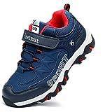 Feetmat Boys Running Shoes Waterproof Kids Sneaker Navy Size 2.5 M Little Kid