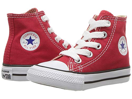 Converse Chuck Taylor All Star Hi Shoe - Toddlers' Red, 5.0]()