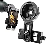 DoubleSun Spotting Scope Cellphone Mount-Design for Binocular Monocular Telescope and Spotting Scope