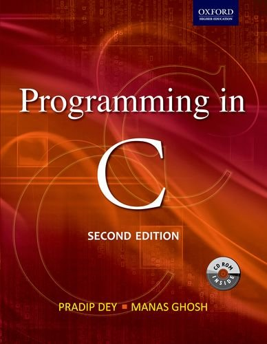 Programming in C 2/e (Oxford Higher Education)