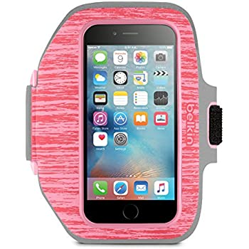 Amazon.com: Belkin EaseFit Convertible Armband for Apple iPhone 4/4S (Black/Limelight): Cell