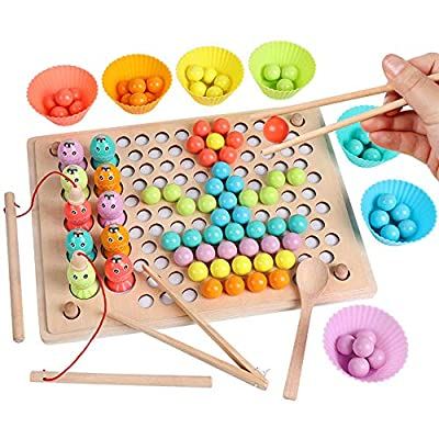 Sorting Toys for Toddlers Matching Game Color Sorting Preschool Learning Toys Children's Toy Gift intellective Educational Kids Families Artwork Teens Toddler Entertainment Cooperative Toddler: Toys & Games