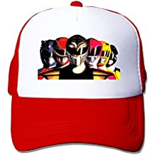 Print Your Own Adult Unisex Cool Power Ranger 100% Nylon Mesh Caps One Size Fits Most Adjustable Leisure Hat