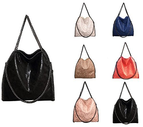 getthatbag-womens-vienna-tote-bag-silver-chain-hardware-bag