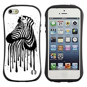 High quality Case for Apple iPhone 6 4.7 6 4.7 Zebra Stripes Art painting