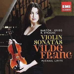Grieg: Violin Sonata No. 1, Op. 8 / Bartok: Sonata for Solo Violin, Sz. 117 / Strauss: Violin Sonata, Op. 18