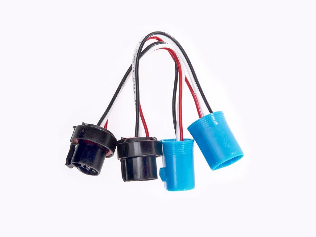 Amazon.com: Halo Automotive 9004 Plug and Play Upgrade Wire Harness - Twin  Pack: Automotive