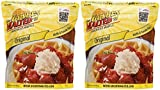 Carbon's Golden Malted Pancake & Waffle Flour Mix, Original, 32-Ounces (Pack of 2)