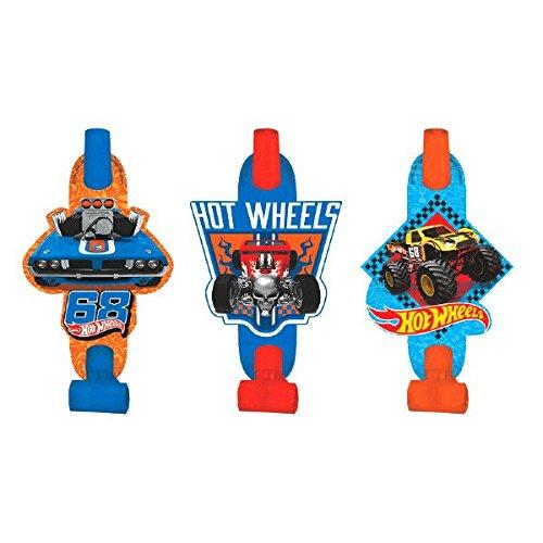 Hot Wheels Wild Racer Blowouts, Party Favor ()