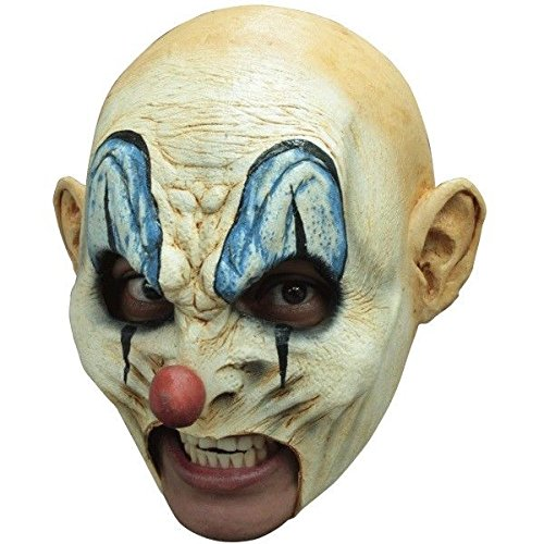 Chinless Scary Clown Latex Mask KRUMPY Evil Killer Klown Halloween Adult Size by Unknown (Image #1)