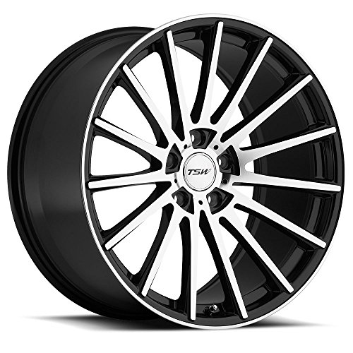 "TSW CHICANE Black Wheel (18x8.5""/5x108mm ,+43mm offset)"