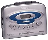 Aiwa HSTX416 Digital Synthesized Tuner Worldwide AM/FM, 3LCD Battery Checker