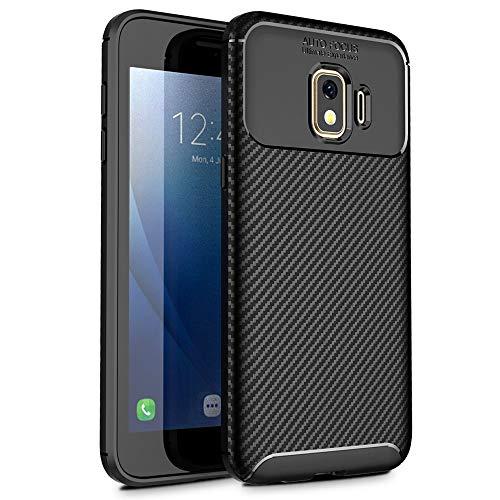 Samsung Galaxy J2 Core Case, Galaxy J2 Dash Case, Galaxy J2 Pure Case, Samsung Bench Case Slinco Flexible Soft TPU Slim Light Rugged Durable Armor Snugly Fit Case for Samsung Galaxy J2 Core(Black)