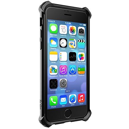 """SwitchEasy AP-11-141-11 Schutzhülle """"Helix Stealth"""" in schwarz für Apple iPhone 6"""