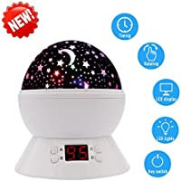 SCOPOW Colorful Constellation Star Sky Kids Night Lamp...